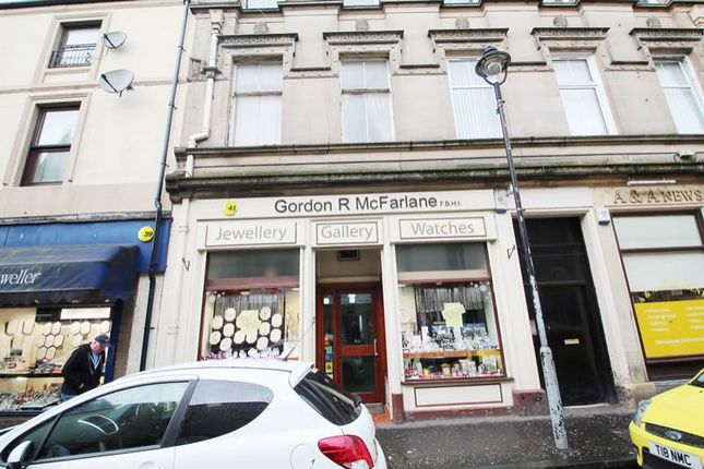 Thumbnail Commercial property for sale in 41, Mill Street, Alloa FK101Dw