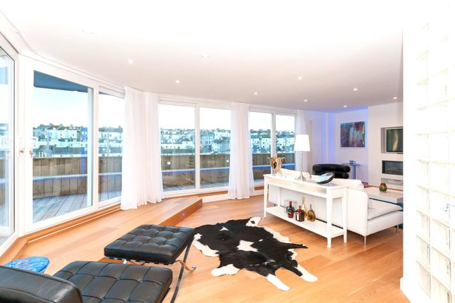 Thumbnail Flat for sale in The Ocean Building, 102 Queens Road, Brighton, East Sussex