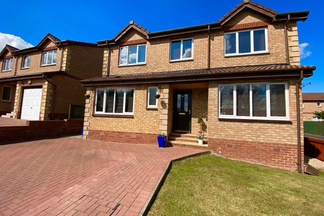 4 bed detached house for sale in Lithgow Place, Denny FK6