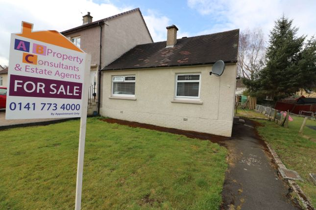 Thumbnail Bungalow for sale in Baillie Drive, Bothwell