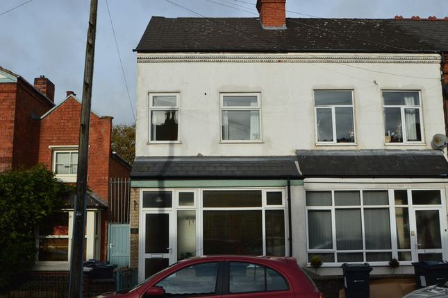 Thumbnail End terrace house to rent in 26 Waterloo Road, Kings Heath, Birmingham
