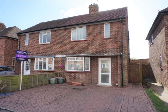 Thumbnail Semi-detached house for sale in The Avenue, New Haw