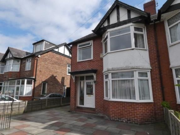 Thumbnail Semi-detached house for sale in St Werburghs Road, Chorlton, Manchester, Greater Manchester