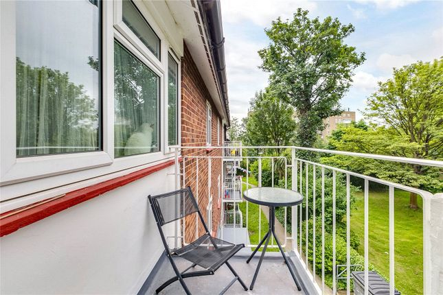 Balcony of Fountain House, 159 Willesden Lane, London NW6