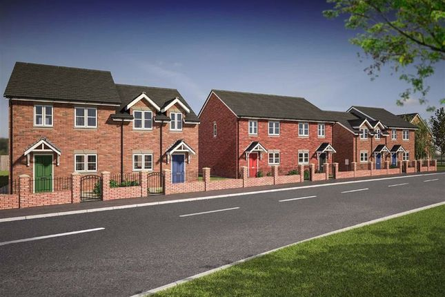 Thumbnail Semi-detached house for sale in Plot 45 Dolforgan View, Kerry, Newtown, Powys