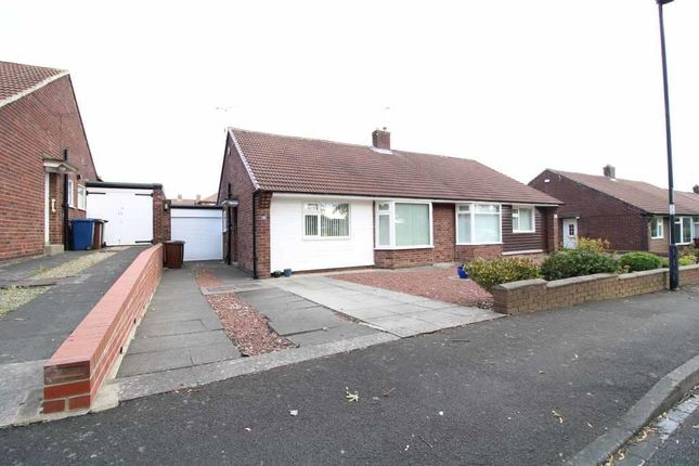 Thumbnail 2 bed semi-detached bungalow for sale in Lincoln Green, Brunton Park, Gosforth, Newcastle Upon Tyne