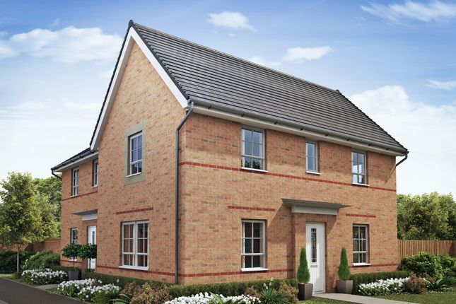 "Thumbnail Detached house for sale in ""Moresby"" at Woodcock Square, Mickleover, Derby"