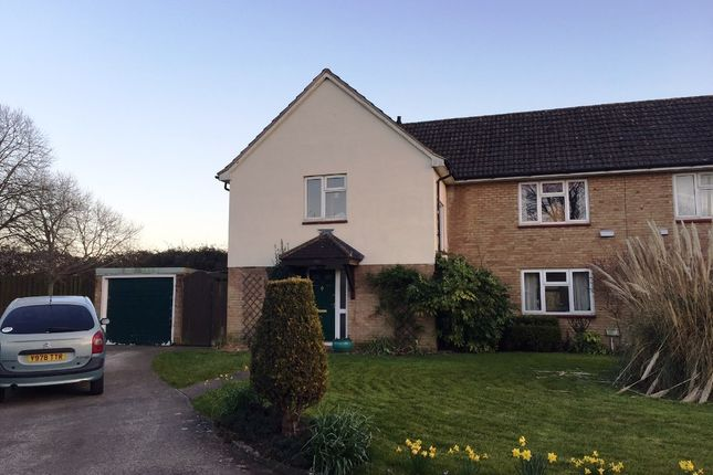 Thumbnail Semi-detached house to rent in Trenchard Road, Weston Super Mare