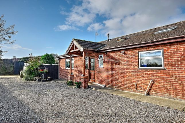 Thumbnail Detached bungalow for sale in Waterheath Road, Beccles
