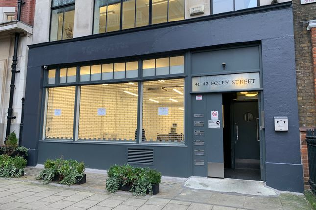 Thumbnail Industrial to let in Ground & Lower Ground Floor, 41-42 Foley Street, Fitzrovia, London