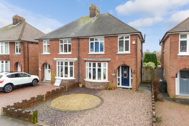 Thumbnail Semi-detached house for sale in Sprotlands Avenue, Willesborough, Ashford
