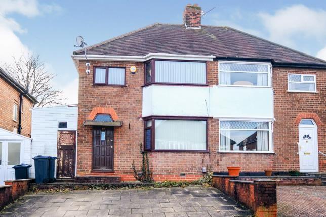 Thumbnail Semi-detached house for sale in Beechmore Road, Yardley, Birmingham, .