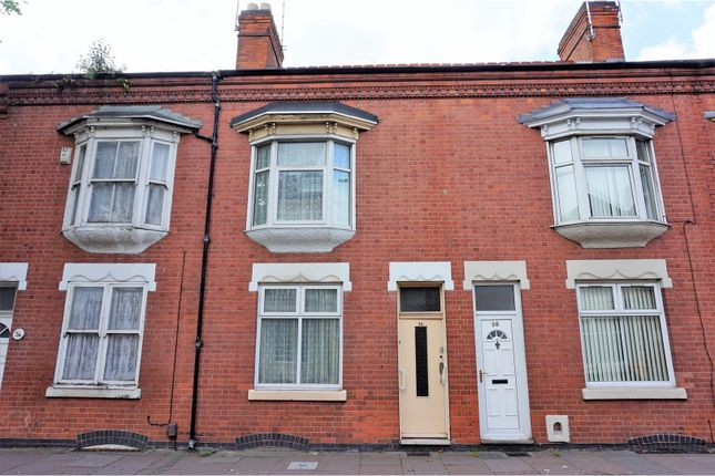 Thumbnail Terraced house for sale in Loughborough Road, Leicester