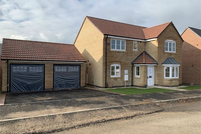 Thumbnail Detached house for sale in Buxton Crescent, Broughton Astley, Leicester