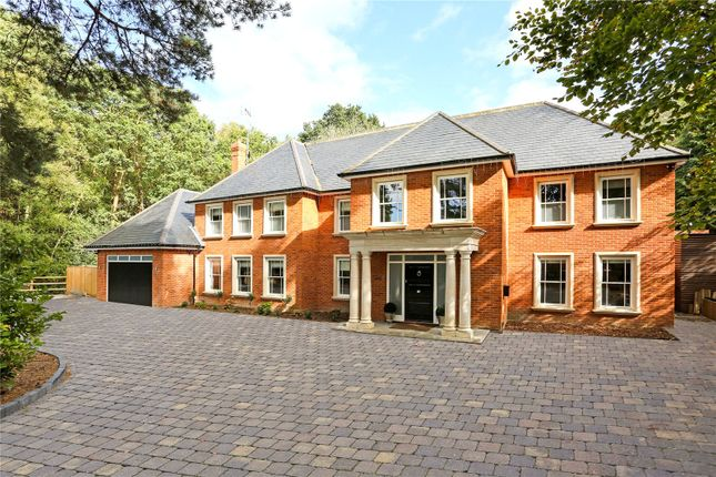 Thumbnail Detached house for sale in Thibet Road, Sandhurst, Berkshire