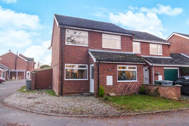 Thumbnail Semi-detached house for sale in Nursery Close, Acle, Norwich