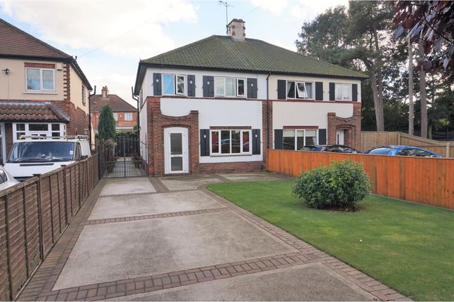 Thumbnail Semi-detached house for sale in Laceby Road, Grimsby