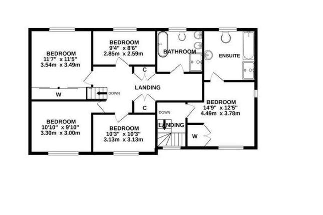 22 Belmont Road Floorplan1