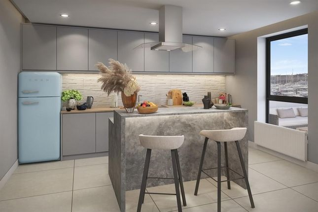 Thumbnail Flat for sale in The Admirals Suite, Ocean Way, Southampton