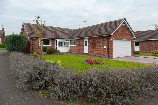 Thumbnail Detached bungalow for sale in Pit Lane, Hough, Crewe