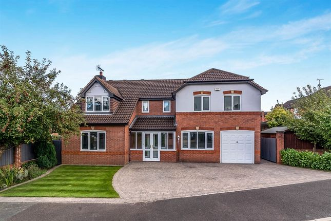 Thumbnail Detached house for sale in Oakover Close, Uttoxeter