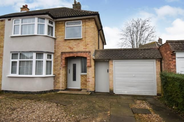 Thumbnail Semi-detached house for sale in Woodgate Drive, Birstall, Leicester, Leicestershire