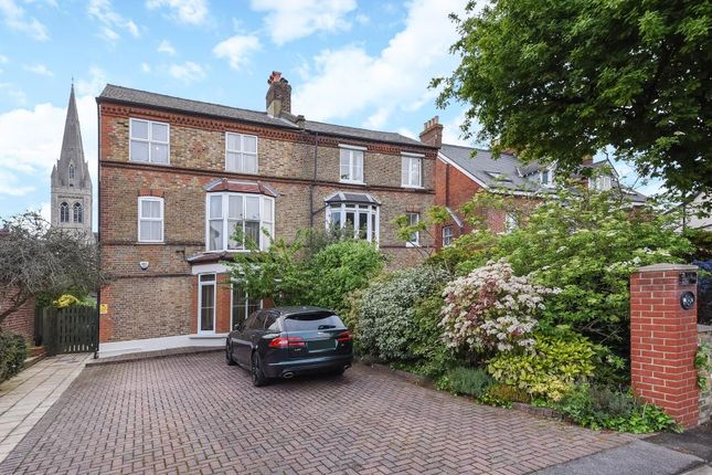 Thumbnail Semi-detached house for sale in Seven Bedroom Victorian Family Home, Surbiton