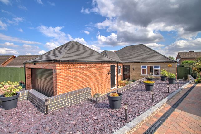 Thumbnail Bungalow for sale in Oaklands Drive, Smalley, Ilkeston