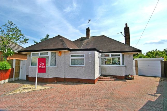 Thumbnail Detached bungalow for sale in Hinderton Drive, West Kirby, Wirral