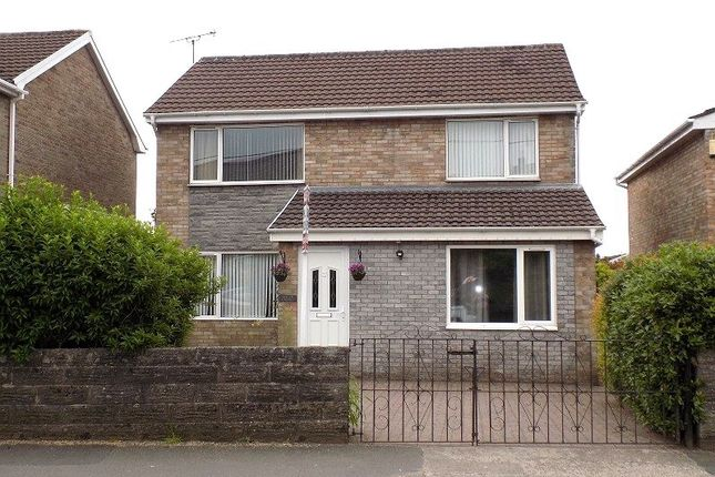 Thumbnail Detached house for sale in Heol West Plas, Coity, Bridgend.