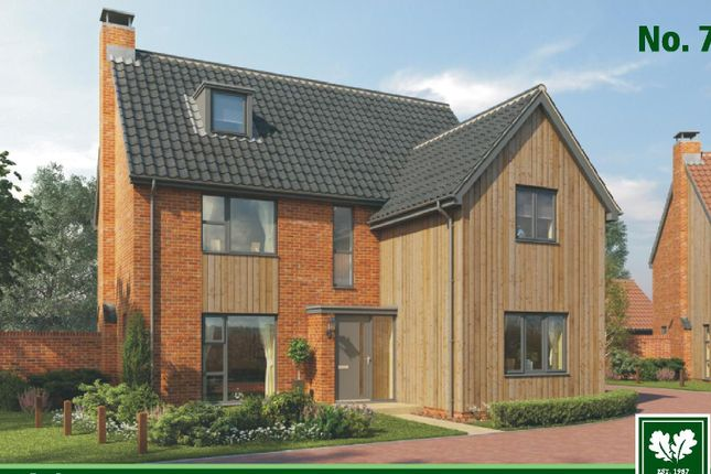 Thumbnail Detached house for sale in Nightingale Close, Melton, Woodbridge