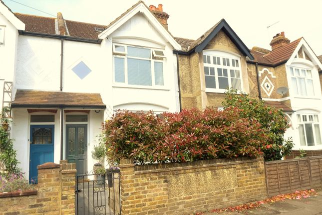 Thumbnail Terraced house for sale in Grange Road, West Molesey
