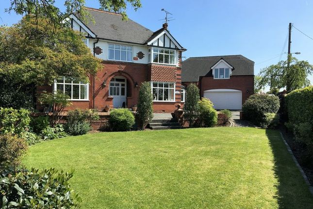 Thumbnail Detached house for sale in Holly Grove House, 1 Folly Lane, Cheddleton, Near Leek, Staffordshire
