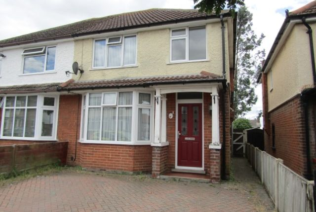 Thumbnail Semi-detached house to rent in Shaftesbury Avenue, Harwich, Essex