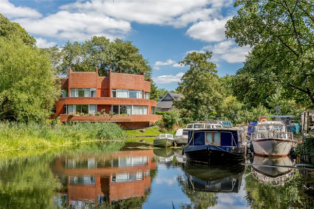 Thumbnail Detached house for sale in White Lilies Island, Mill Lane, Windsor, Berkshire