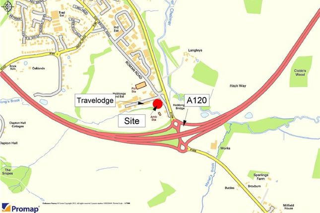 Thumbnail Land for sale in Land At, Chelmsford Road, Great Dunmow, Essex, England