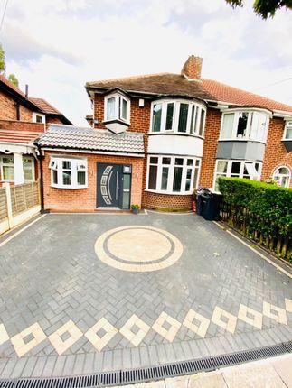 Thumbnail Semi-detached house for sale in Rymond Road, Hodge Hill, Birmingham