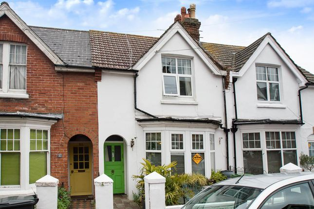 Thumbnail Terraced house for sale in Hurst Road, Eastbourne