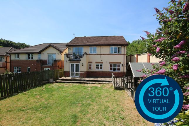 Thumbnail Detached house for sale in St. Peters Mount, Redhills, Exeter