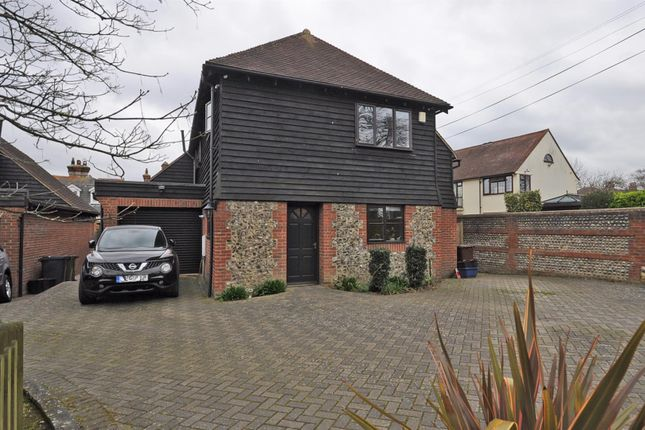 Thumbnail Detached house for sale in Vicarage Road, Hailsham