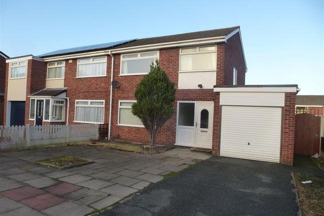 Thumbnail Semi-detached house to rent in Claverton Close, Runcorn