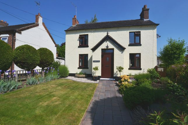 Thumbnail Detached house for sale in Longford Turning, Market Drayton