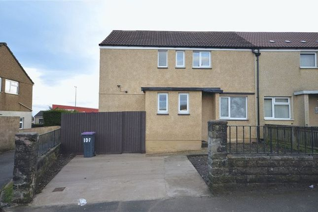 Thumbnail Semi-detached house to rent in Lasgarn View, Varteg, Pontypool