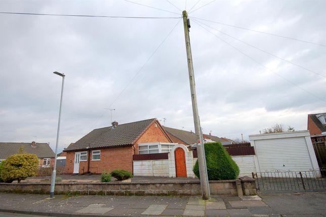 Thumbnail Detached bungalow for sale in Tennyson Avenue, Crewe