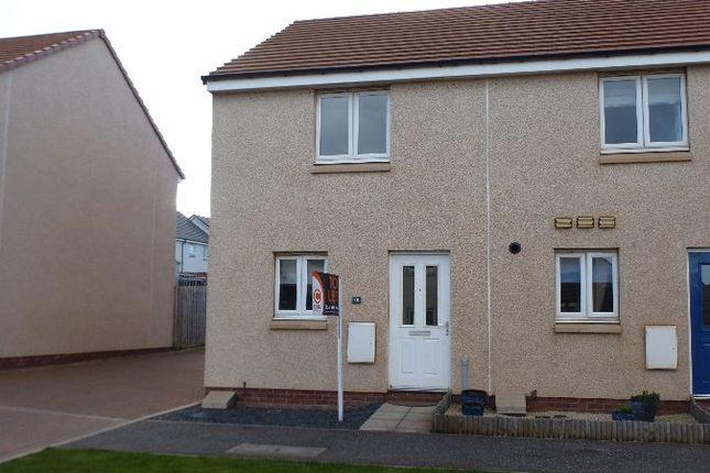Thumbnail Terraced house to rent in Fairbairn Way, Dunbar, East Lothian