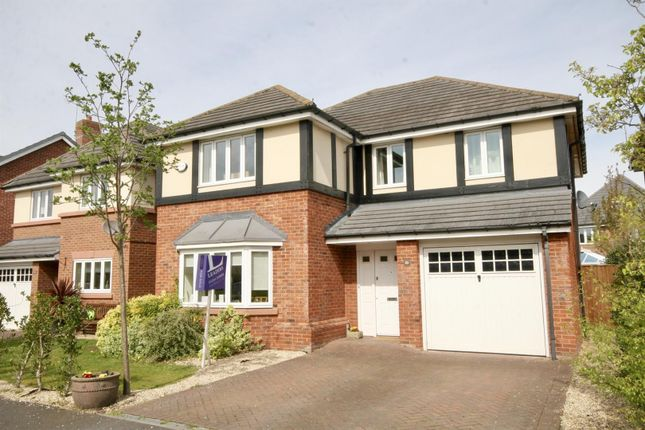 Thumbnail Detached house for sale in Yew Tree Avenue, Saughall, Chester