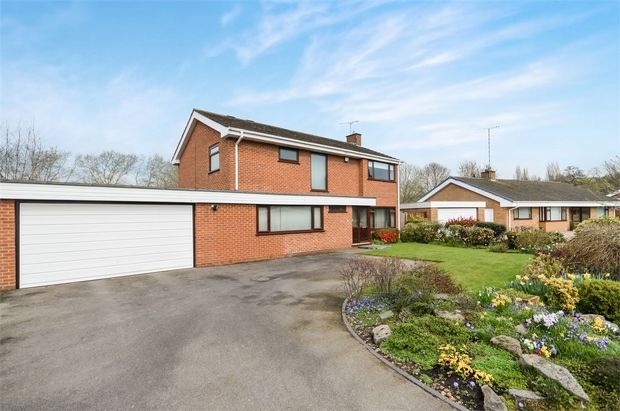 Thumbnail Detached house for sale in The Shrubberies, Cannon Hill, Coventry, West Midlands