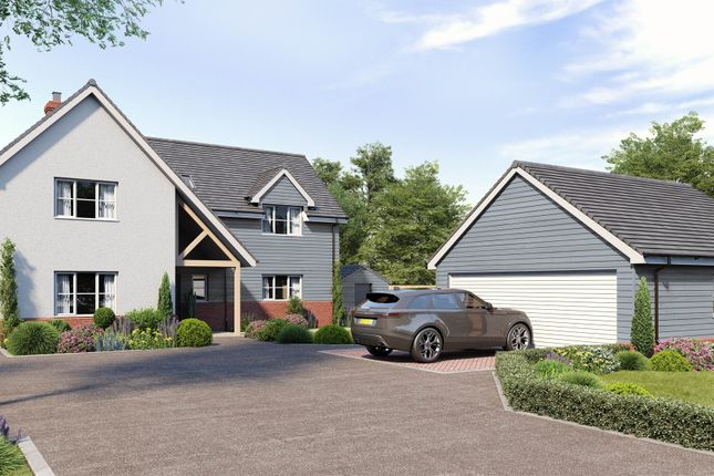 Thumbnail Detached house for sale in Godbolts Grange, Great Tey Road, Little Tey, Colchester
