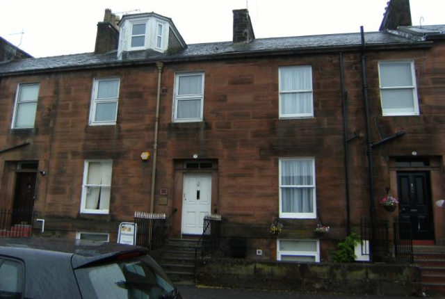 Thumbnail Flat to rent in 7A Terregles Street, Dumfries
