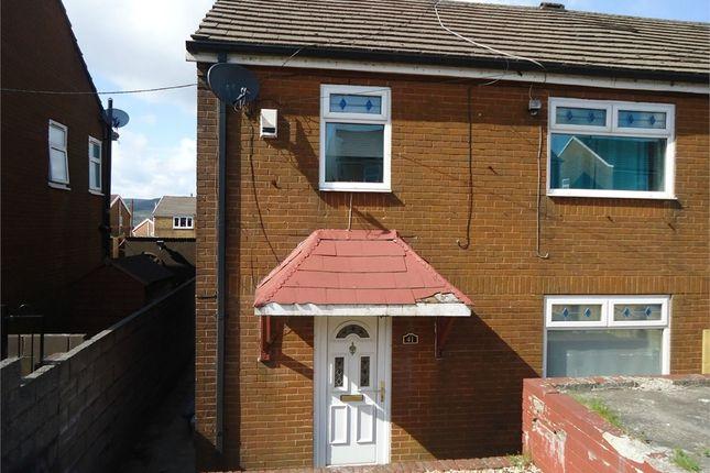 Thumbnail Semi-detached house to rent in 41 Pen Y Mynydd, Cymmer, Port Talbot